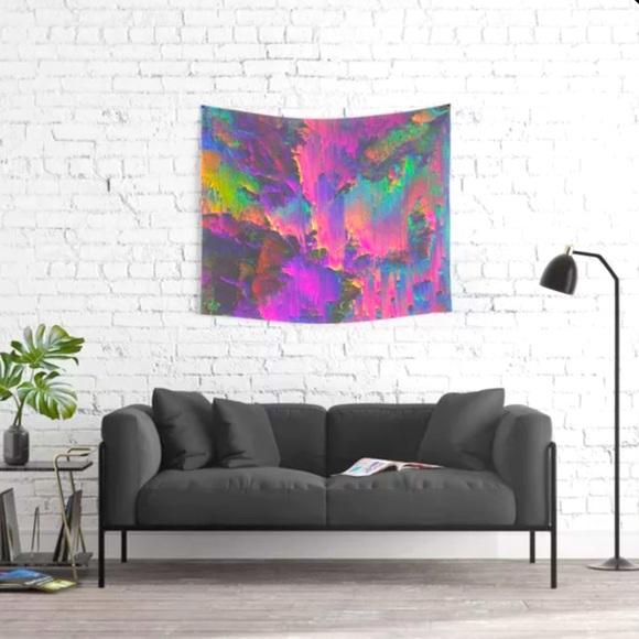 Society 6 Acid Tapestry